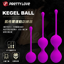 PRETTY LOVE-KEGEL BALL 縮陰矽膠訓練球...